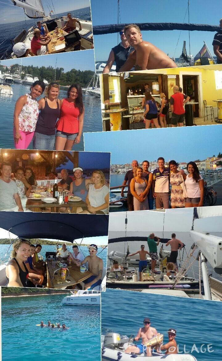 Segeltörn Kroatien Juli 2015 - Impressionen